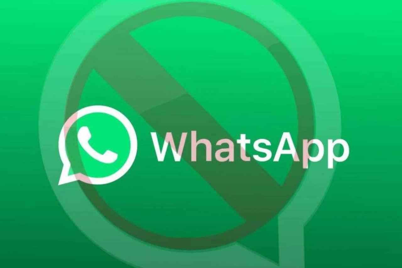 WhatsApp Bloccato