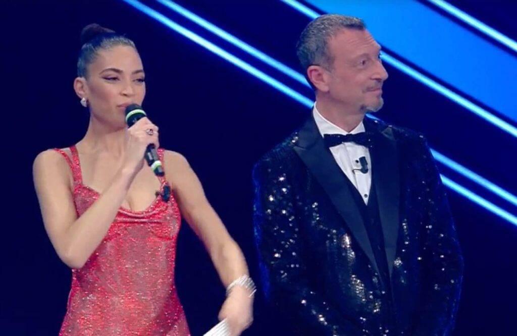 Sanremo 2021, Elodie e Amadeus