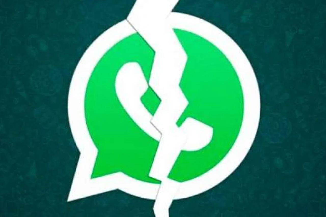 WhatsApp crollo