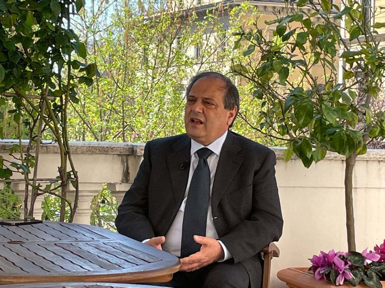 Filippo Anelli, presidente della Federazione nazionale degli Ordini dei Medici Chirurgi e Odontoiatri (FNOMCeO)