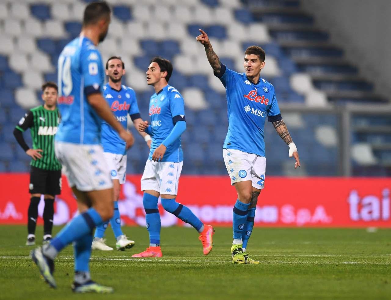 Sassuolo Napoli