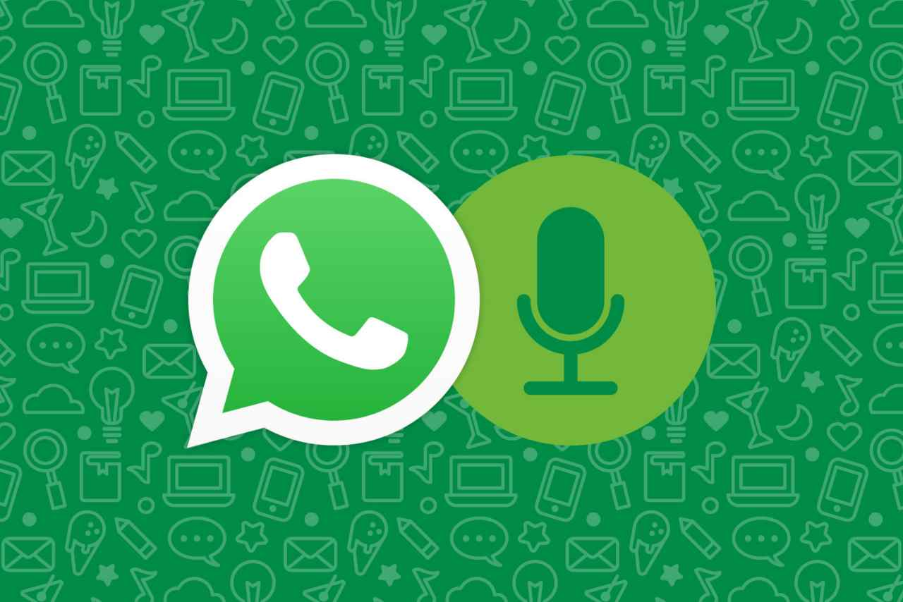WhatsApp messaggi vocali