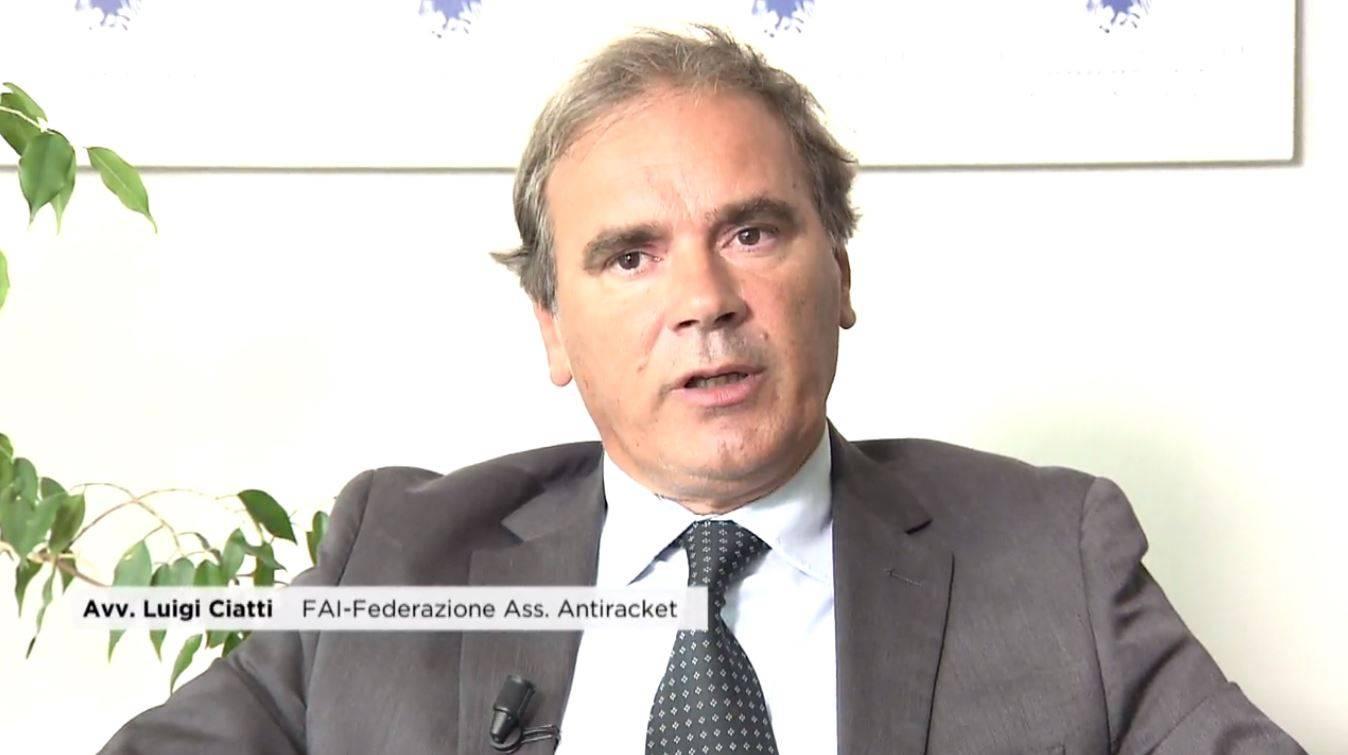 Avvocato Luigi Ciatti, FAI - Federazine Associazione Antiracket - Foto di www.ambulatorioantiusura.it