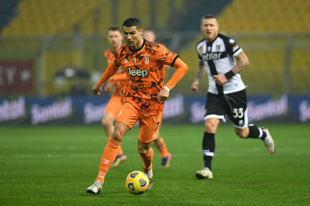 Juventus Parma streaming gratis