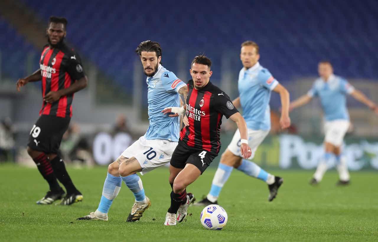 Lazio Milan highlights