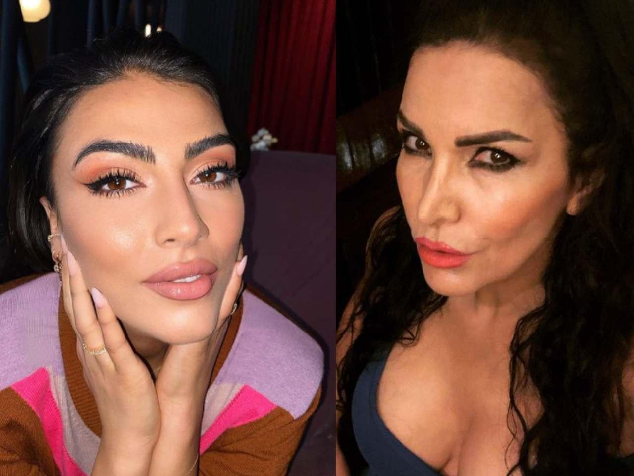 Giulia Salemi e Fariba Tehrani, rivelato il segreto