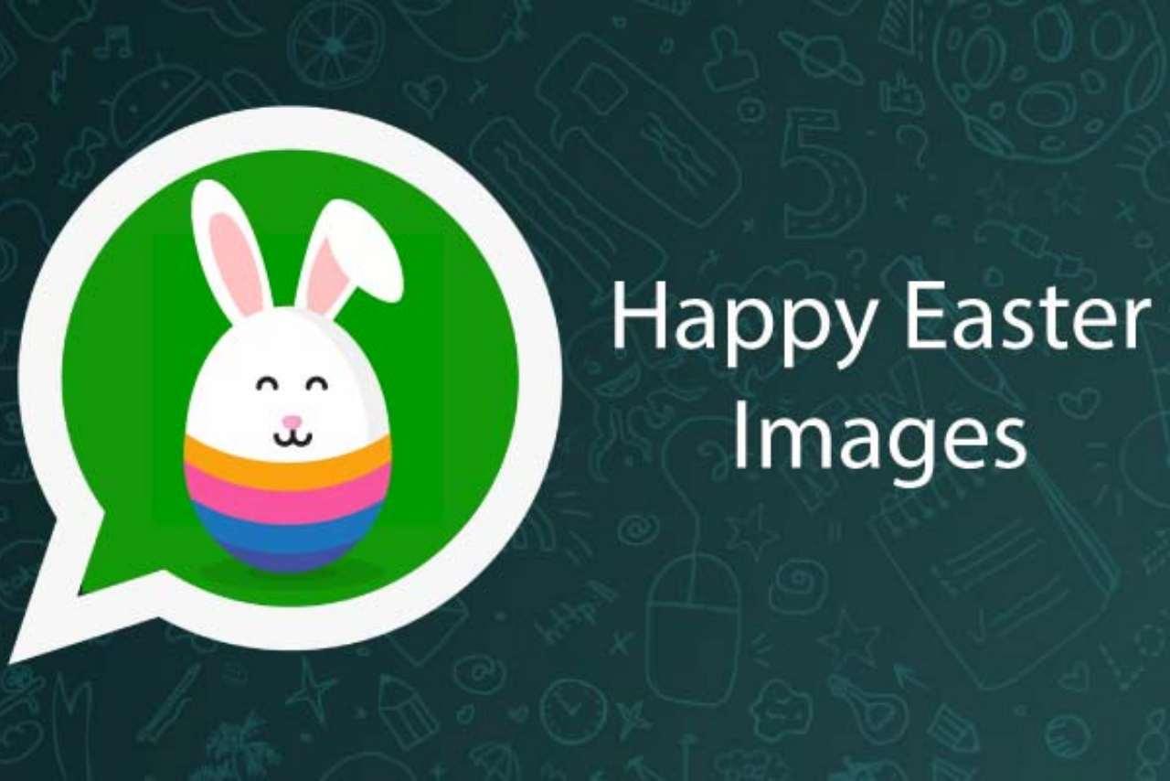 WhatsApp Pasqua foto frasi