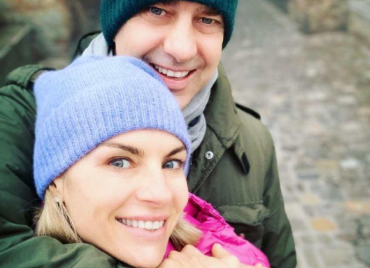 Martina Colombari e Billy Costacurta dallo psicologo