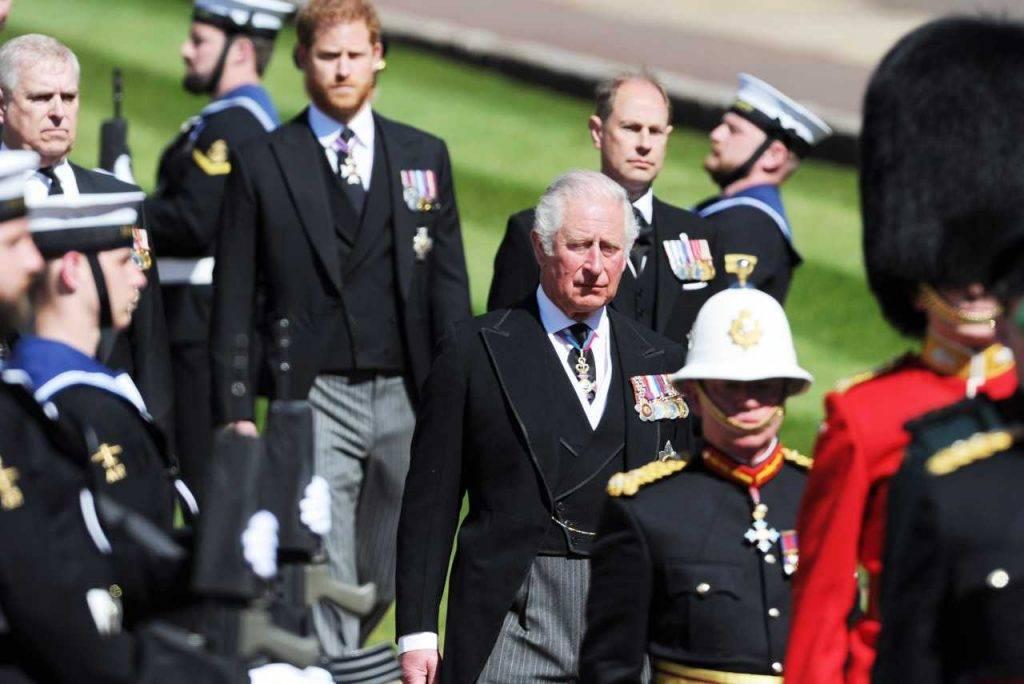Principe Carlo e Harry