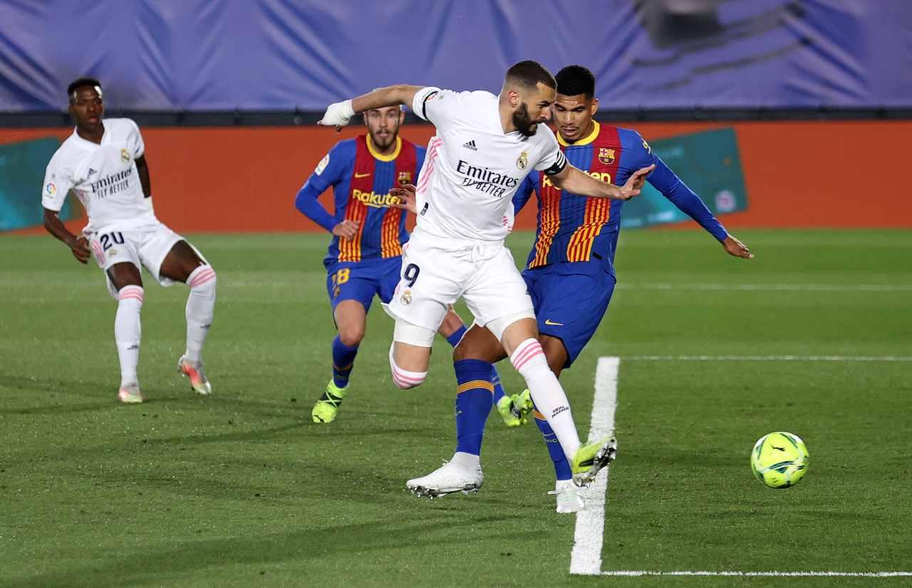 Real Madrid-Barcellona