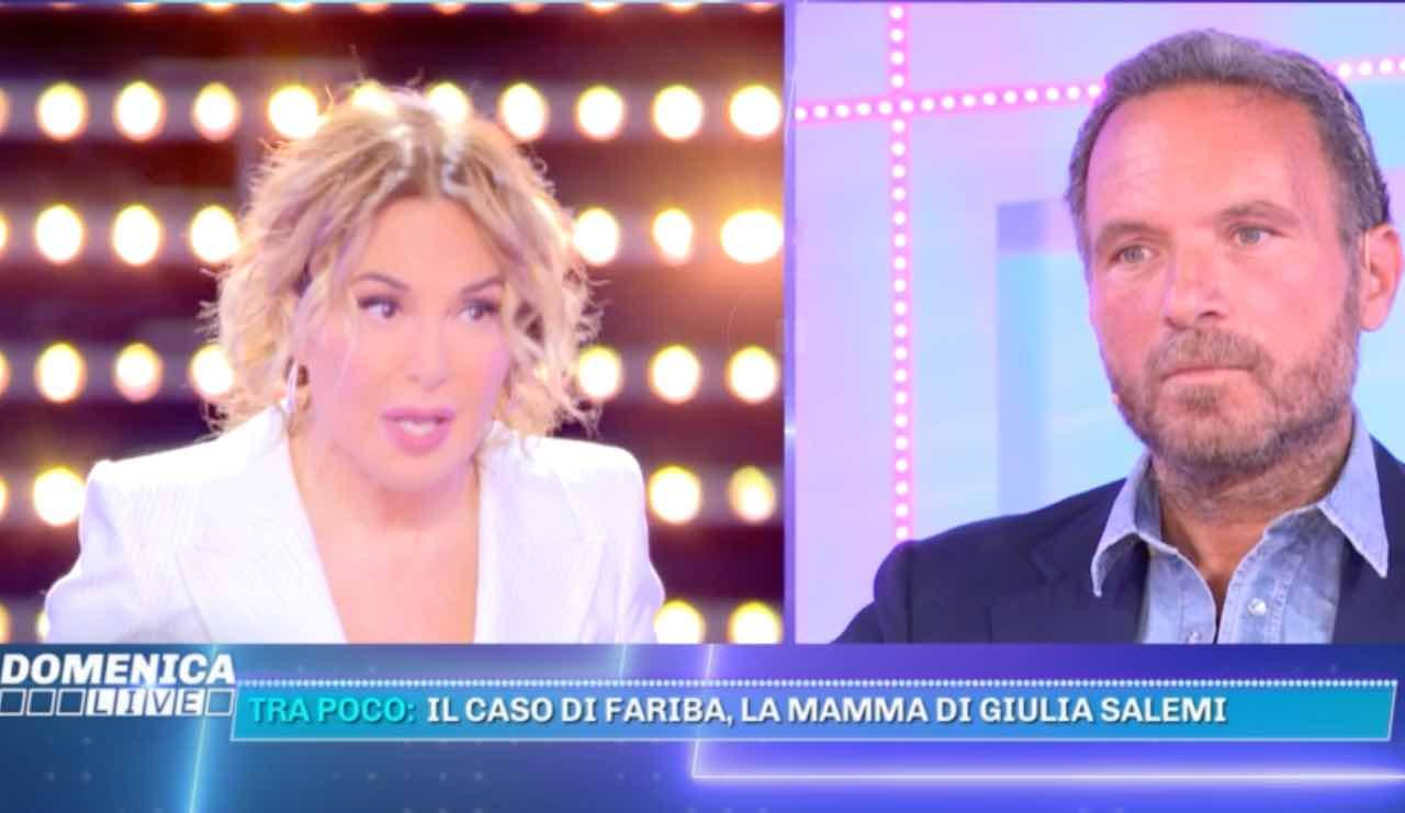 Ferdinando Guglielmotti innamorato di Barbara D'Urso