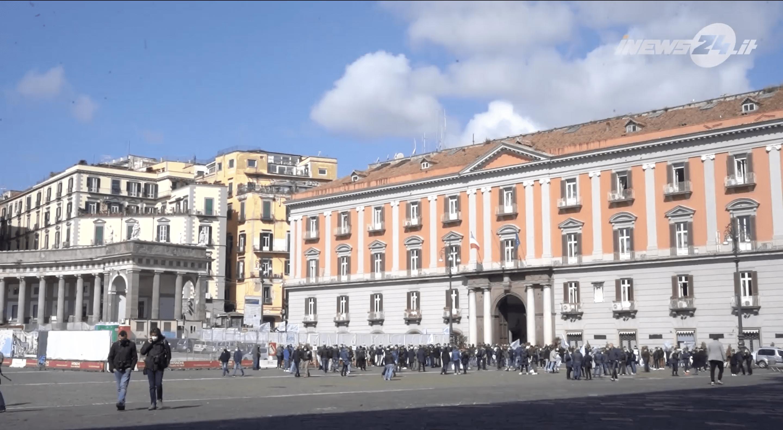 Protesta commercianti Napoli - iNews24