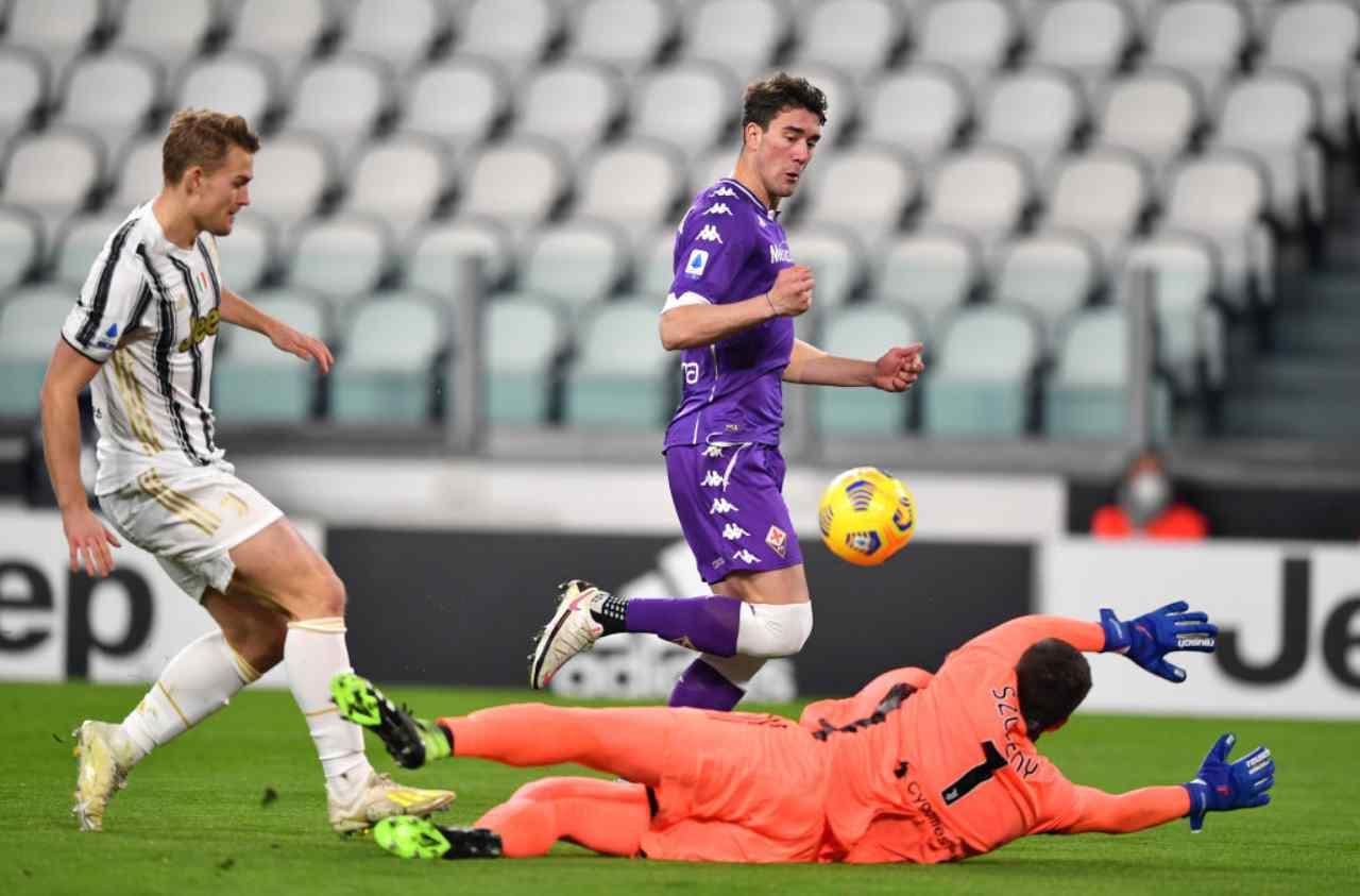 Fiorentina Juventus streaming gratis