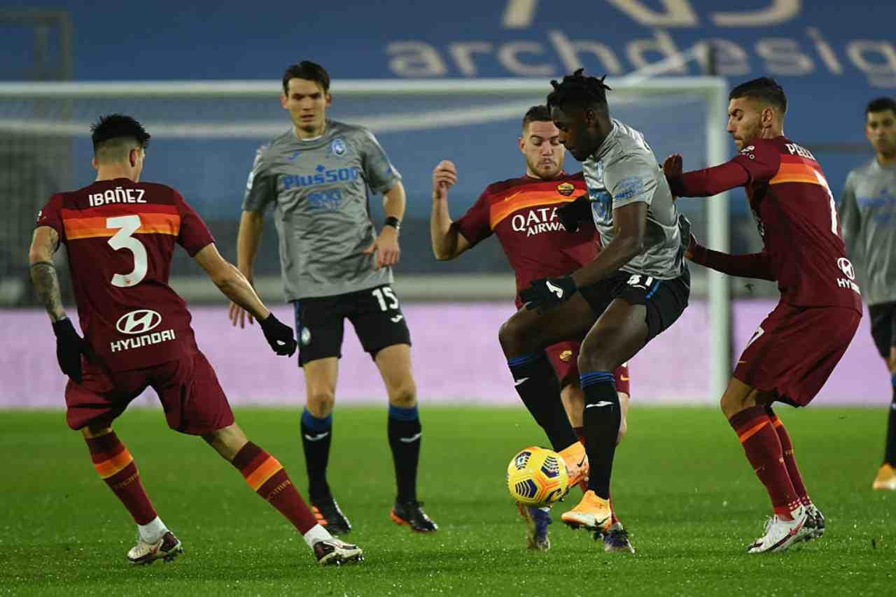 Roma Atalanta streaming gratis