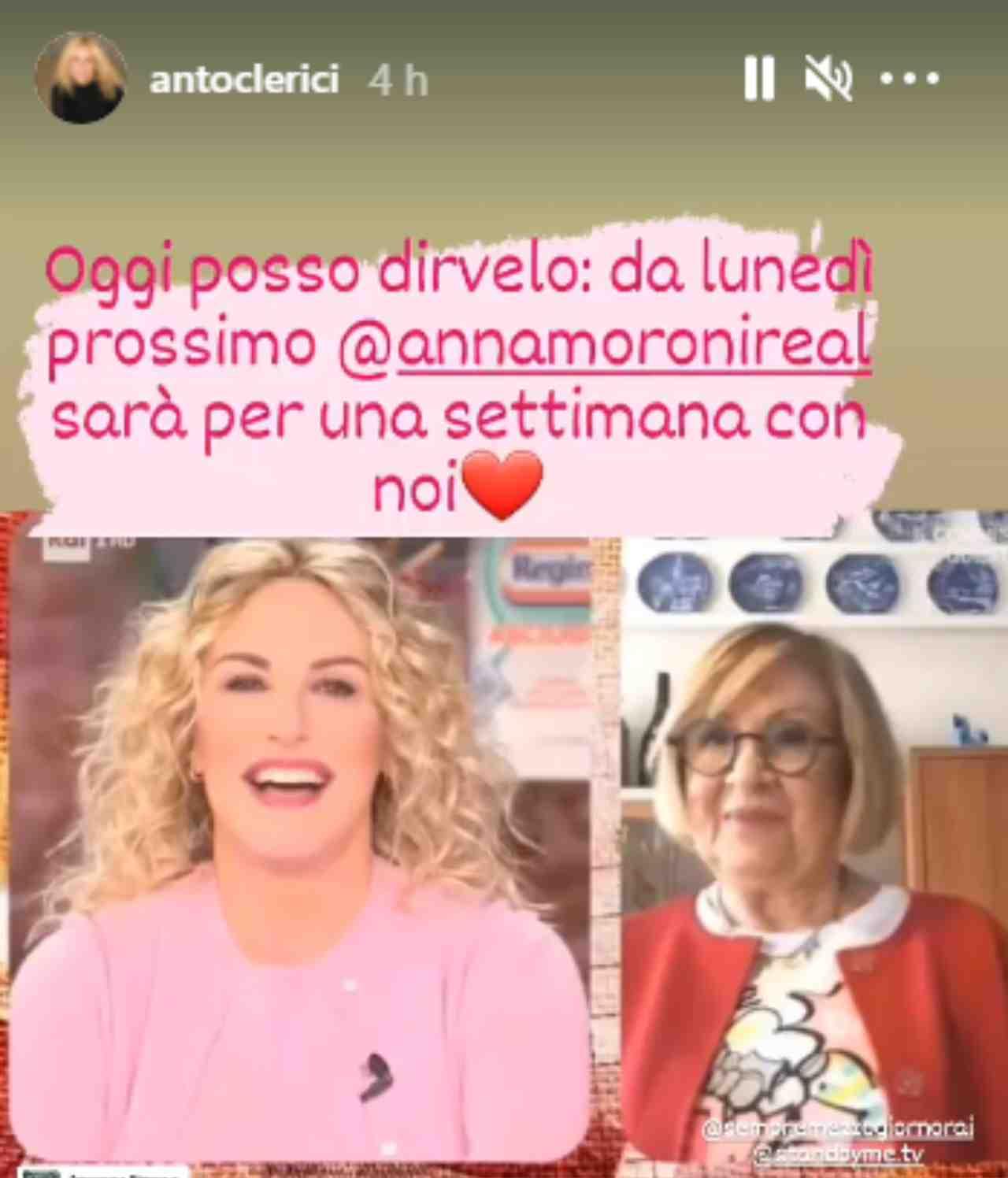 Antonella Clerici, il grande ritorno