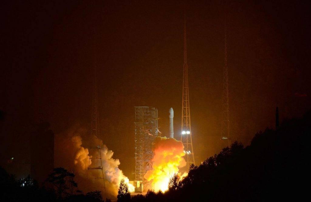 Caduta razzo cinese