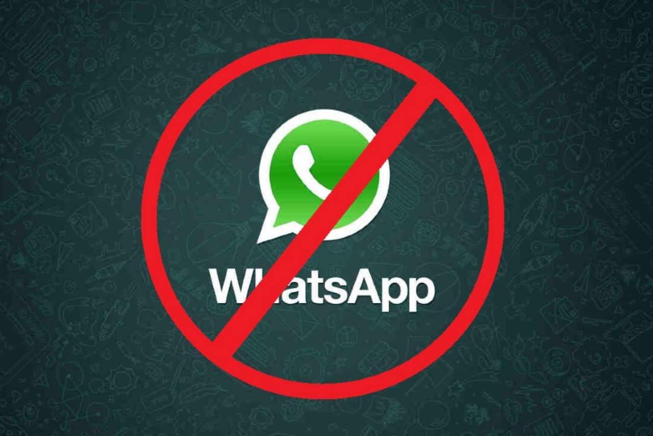 WhatsApp bannati