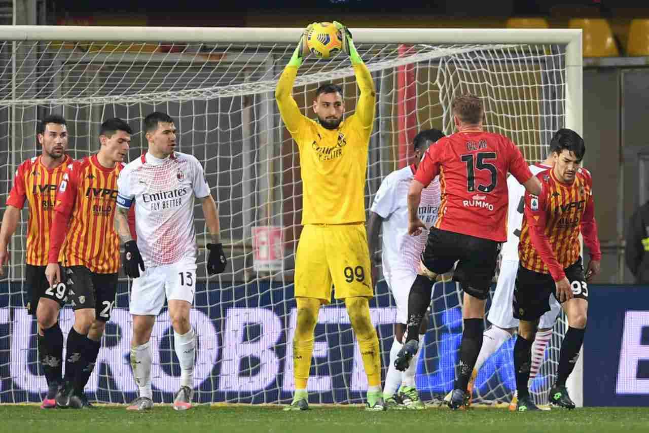 Milan Benevento streaming gratis