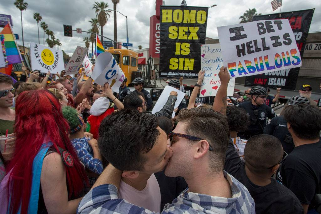 Los Angeles Pride, dall'archivio - Foto di Getty Images
