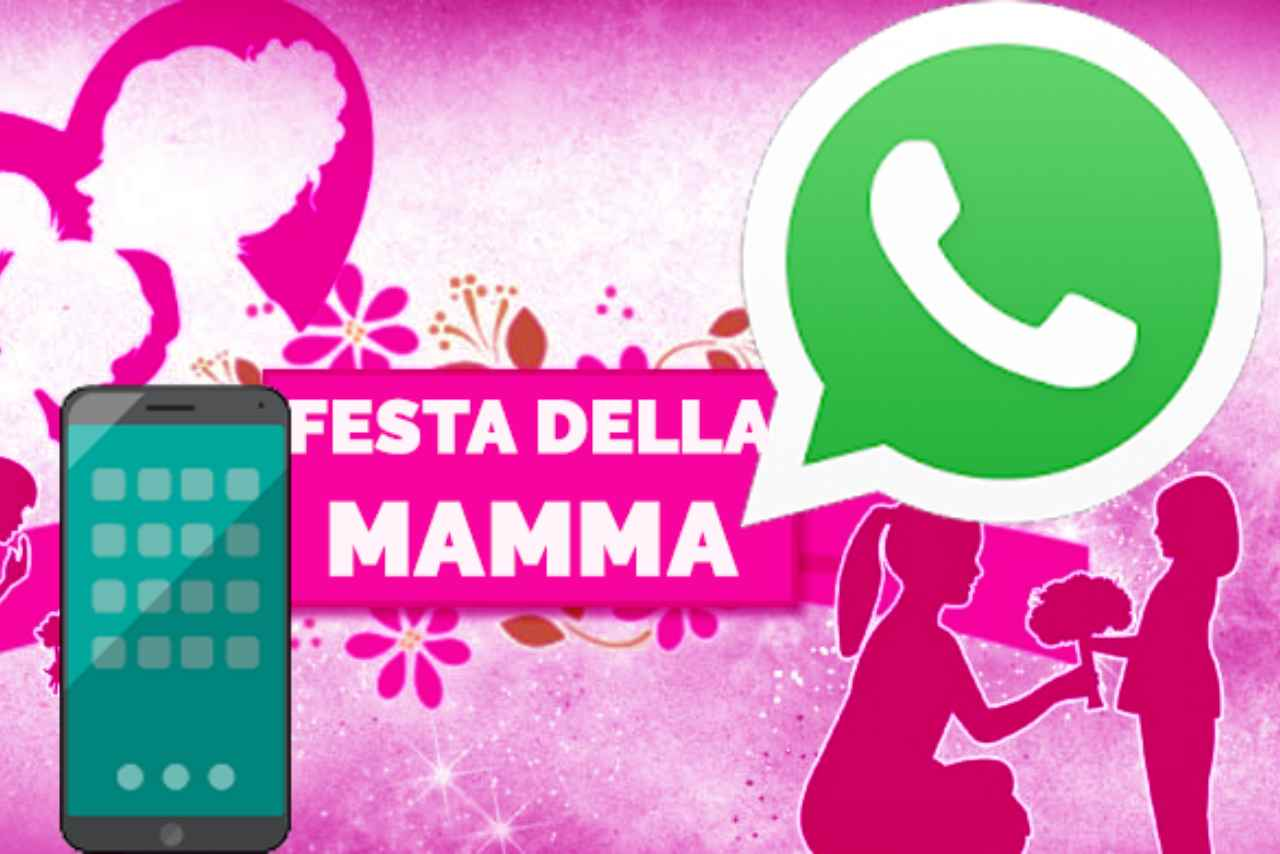 WhatsApp festa mamma