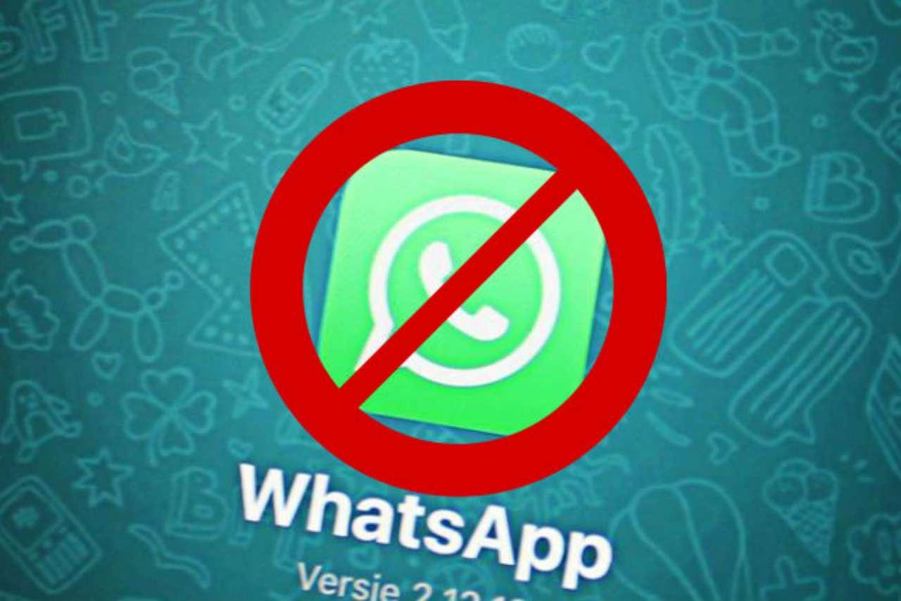 WhatsApp rinuncia utenti