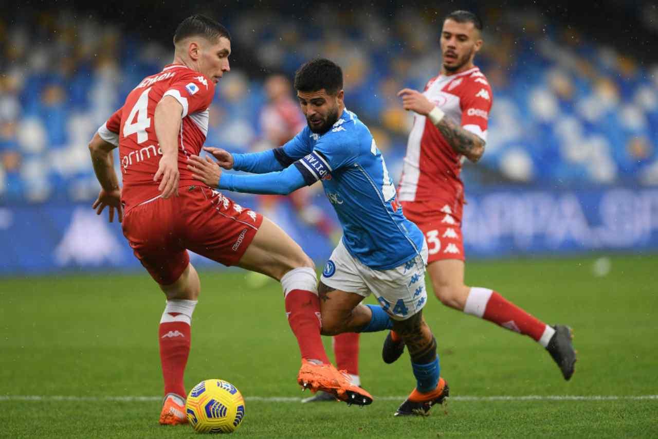 Fiorentina Napoli streaming gratis
