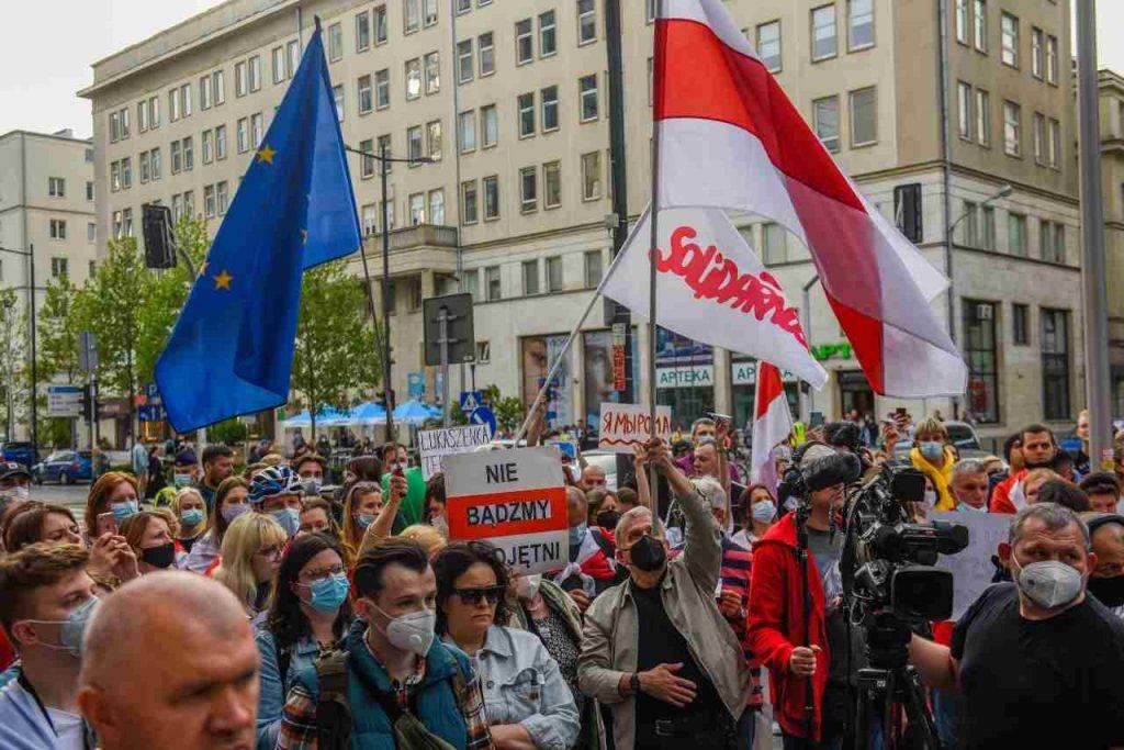 Bielorussia proteste