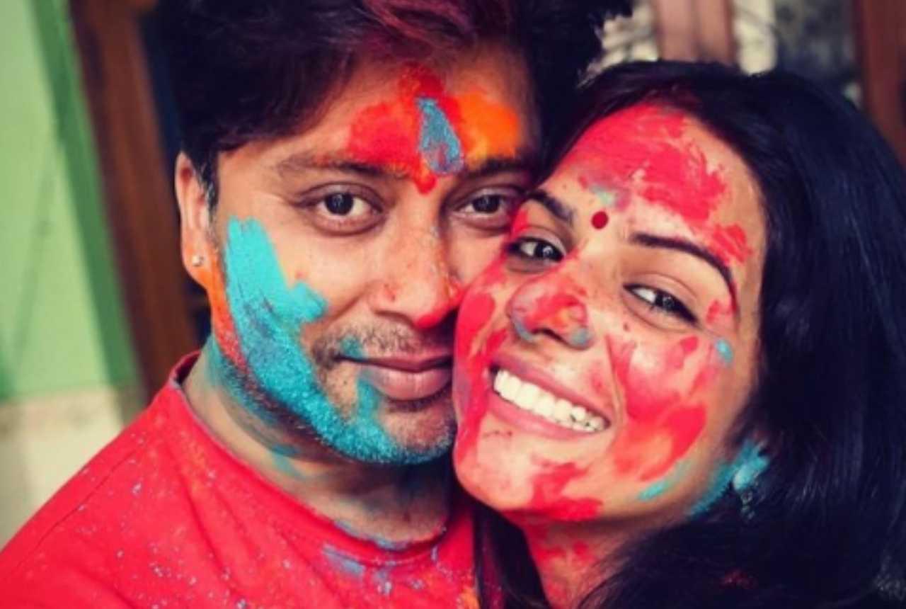 Rahul Vohra e sua moglie Tiwari
