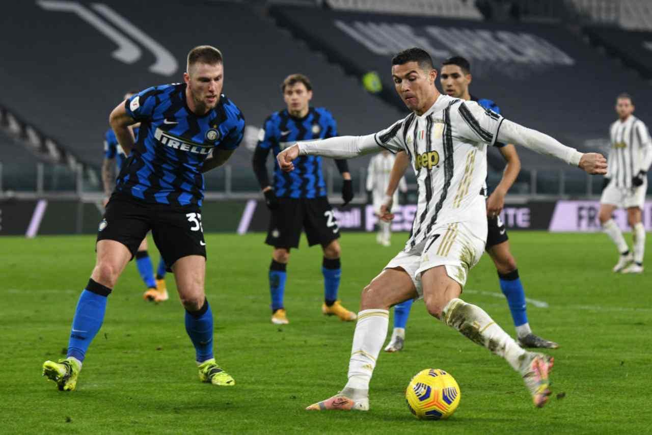 Juventus Inter streaming gratis