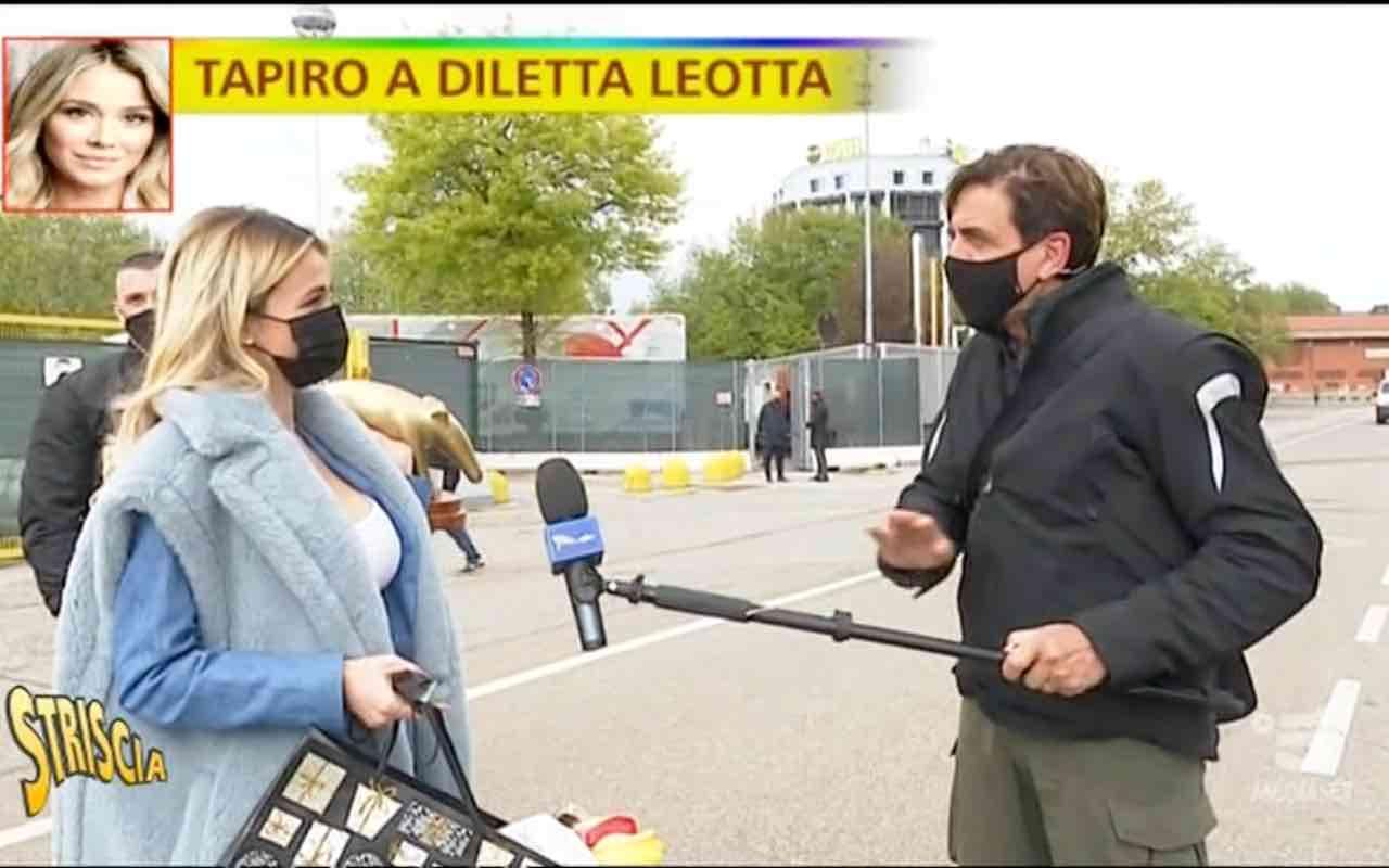 Diletta Leotta e Valerio Staffelli