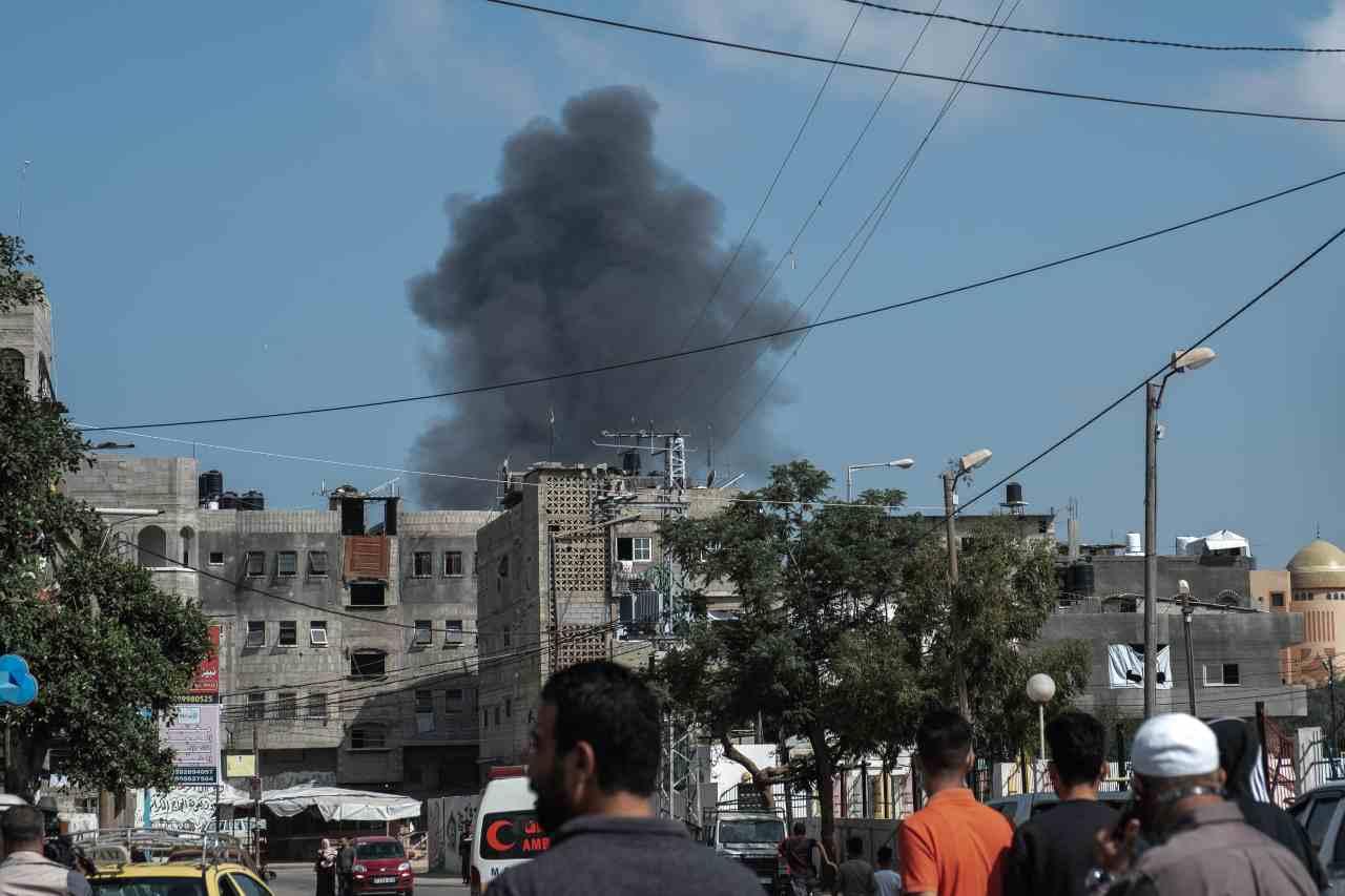 Gaza bombardamenti Israele
