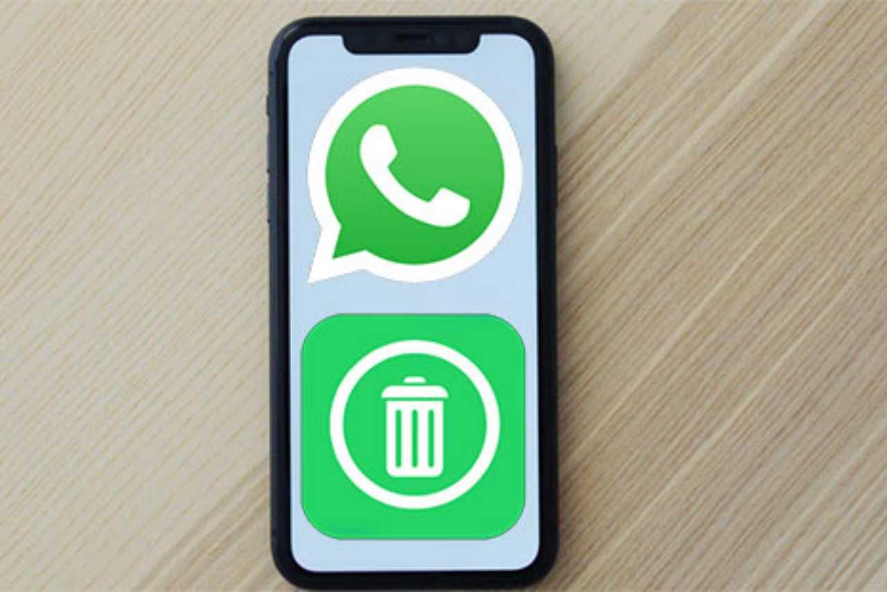 WhatsApp messaggi eliminati