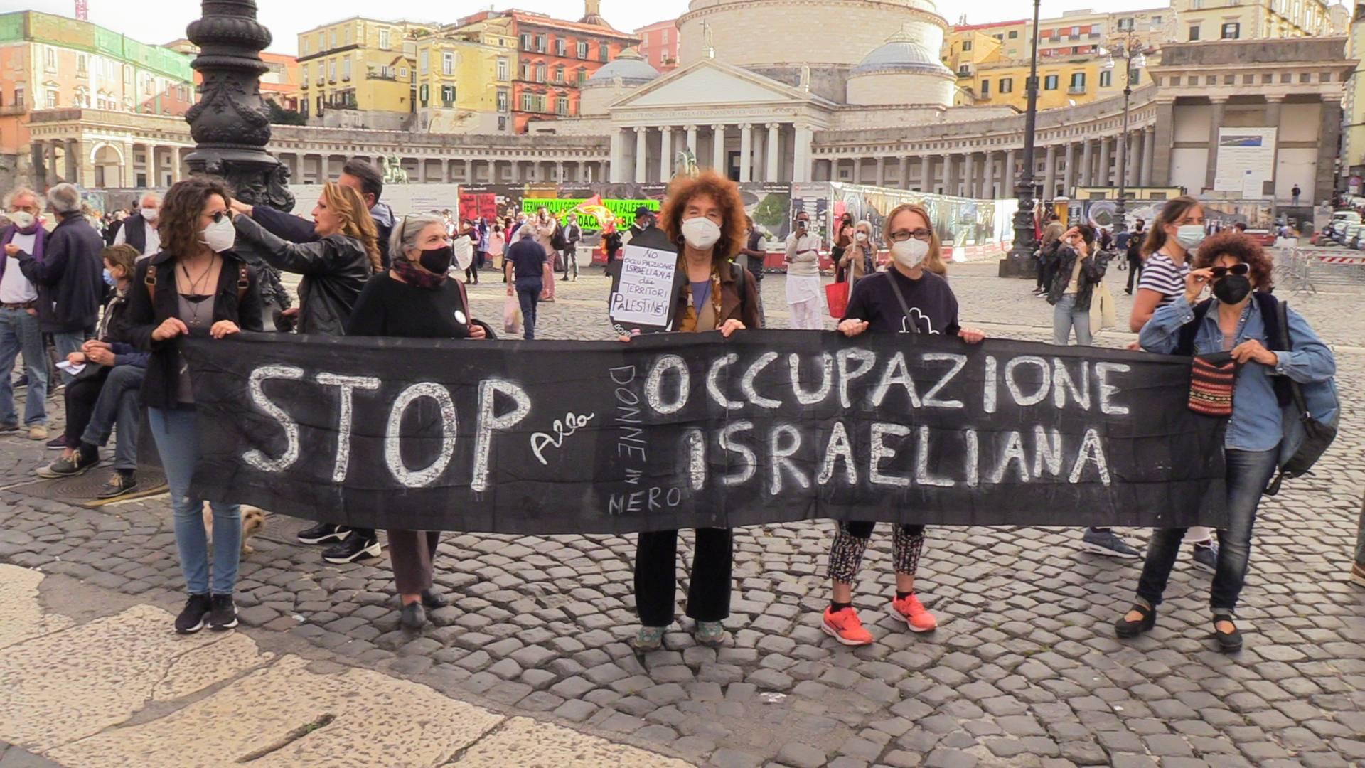 manifestazione napoli palestina
