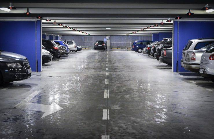 parcheggio milione dollari