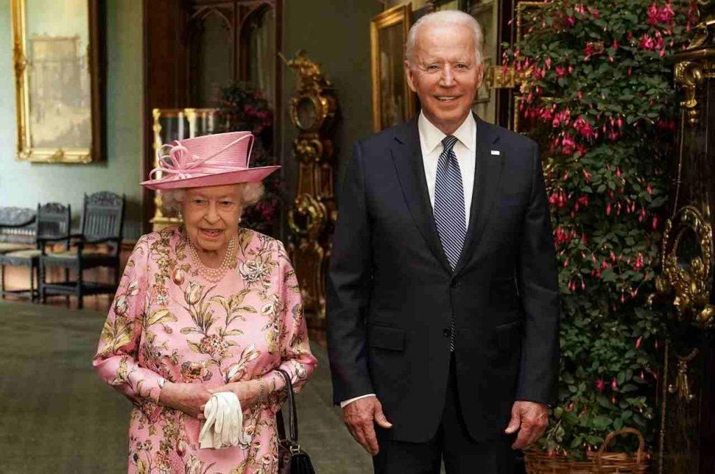 Biden Regina Elisabetta
