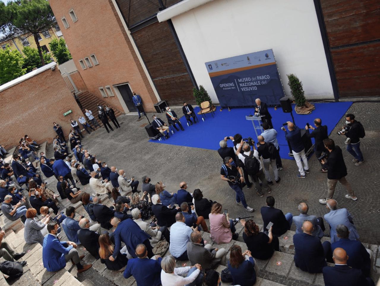 Inaugurazione Museo del Parco Nazionale del Vesuvio - Foto Ufficio Stampa