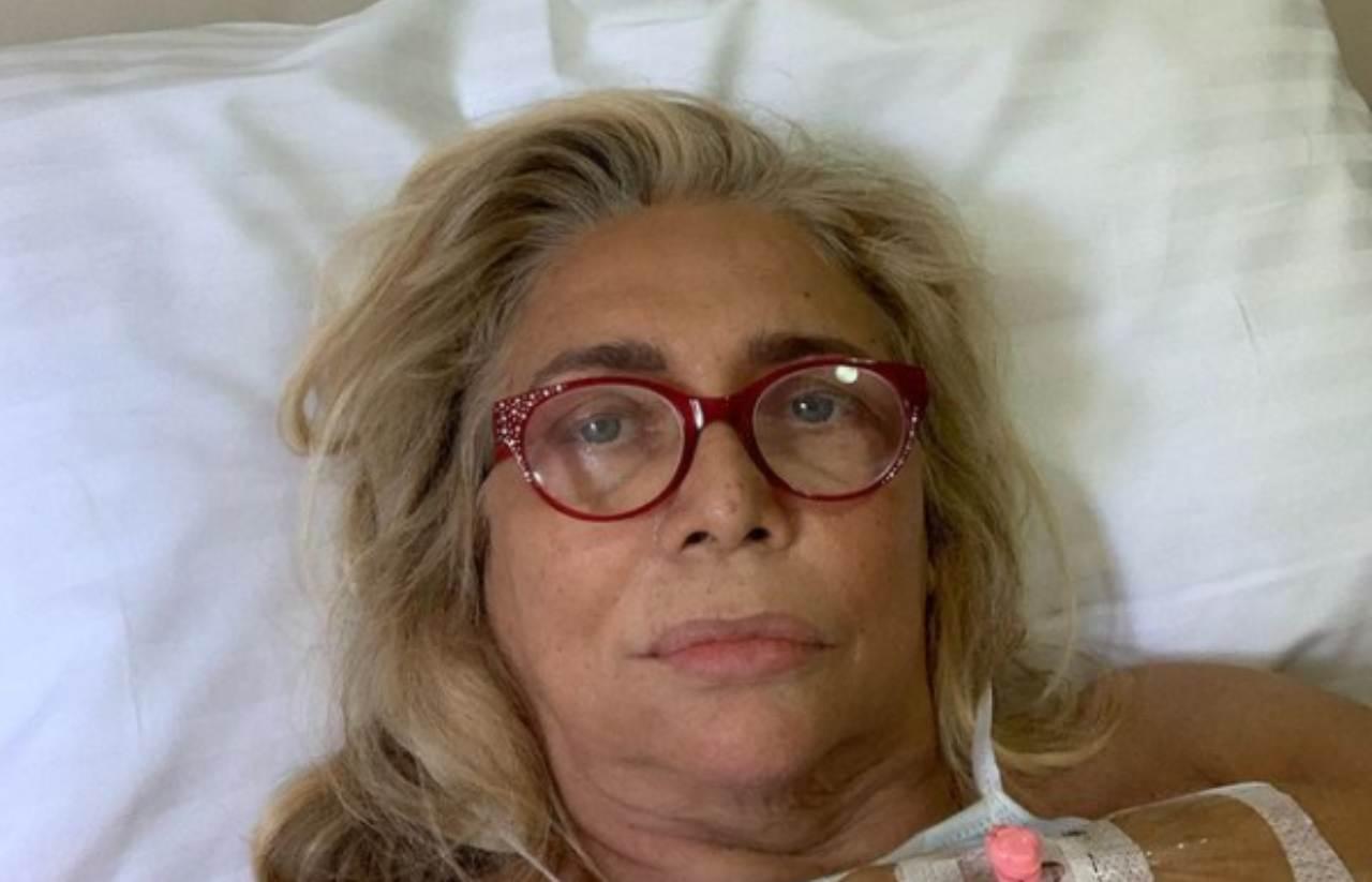 Mara Venier ricoverata in ospedale