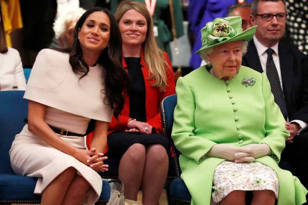Meghan e Regina Elisabetta