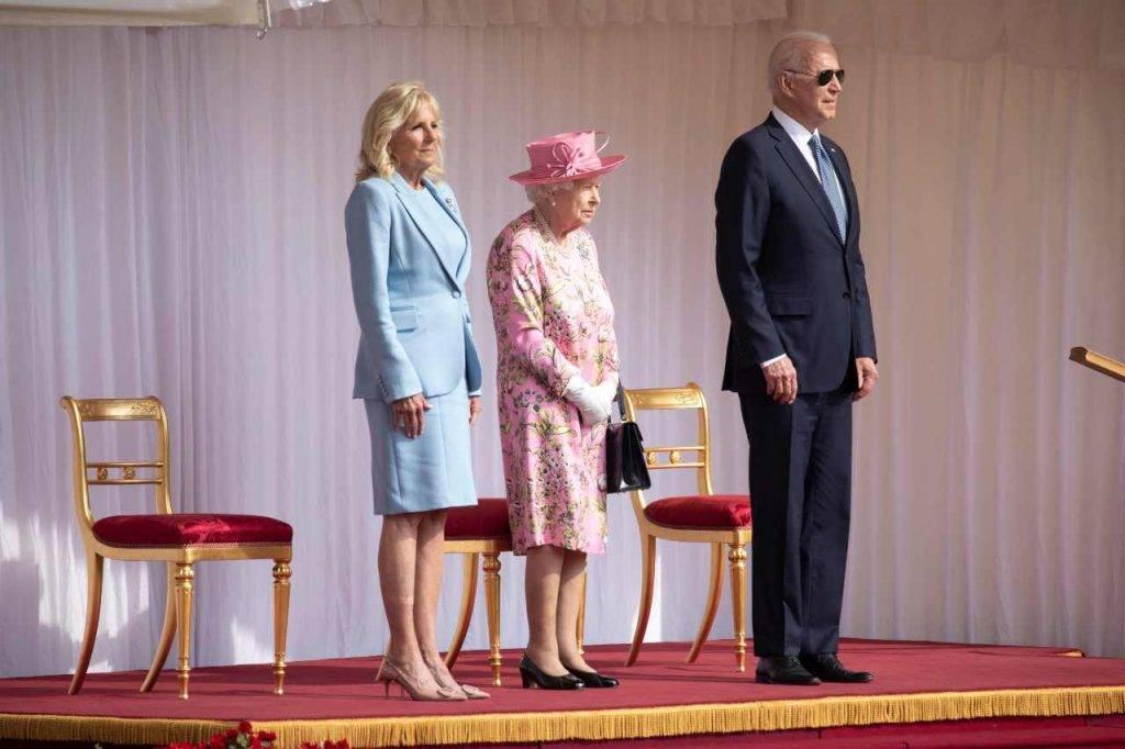 visita Biden Regina Elisabetta