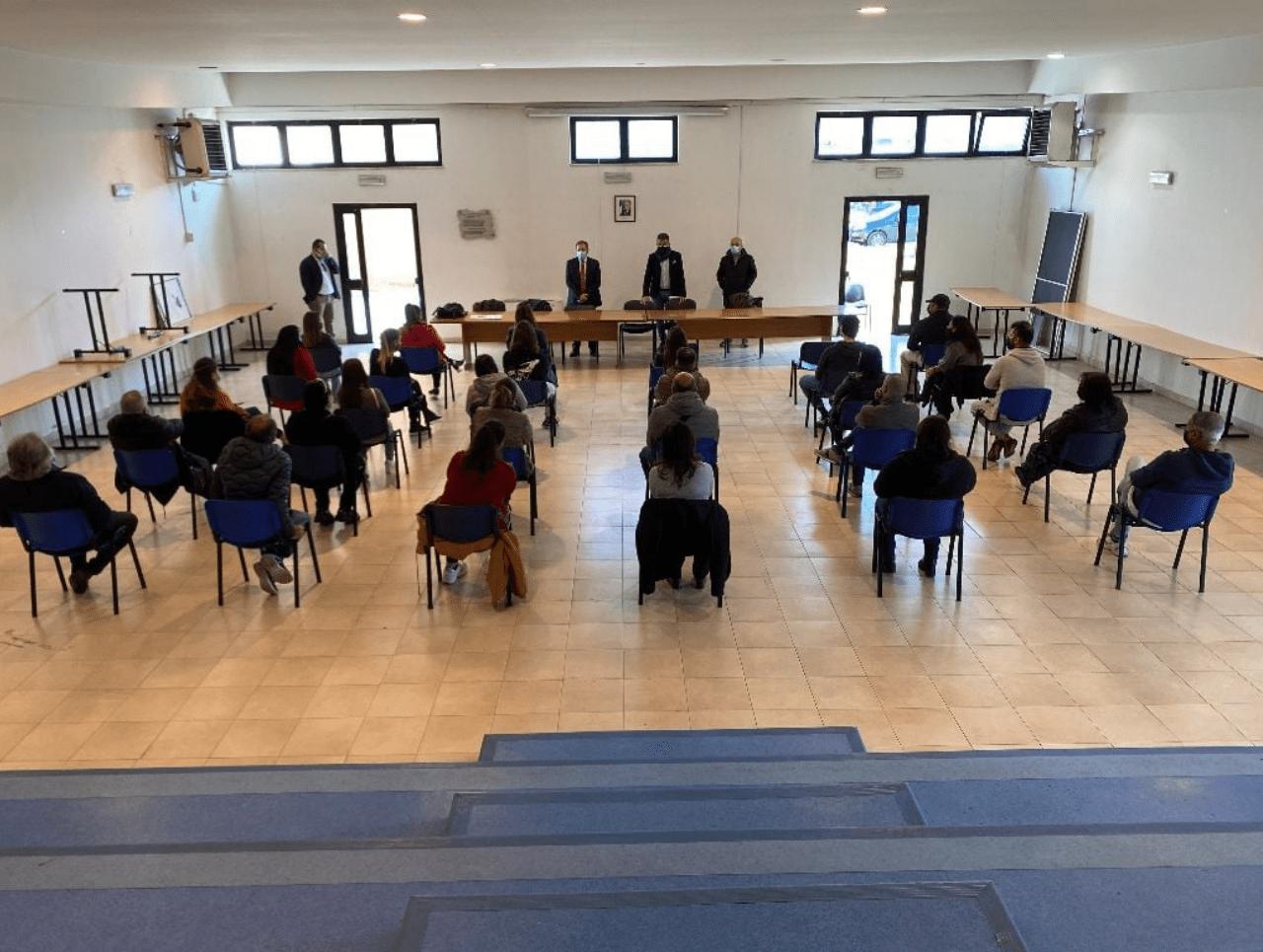 Sala Consiliare Torre Annunziata - Pagina Facebook Ufficiale Comune di Torre Annunziata
