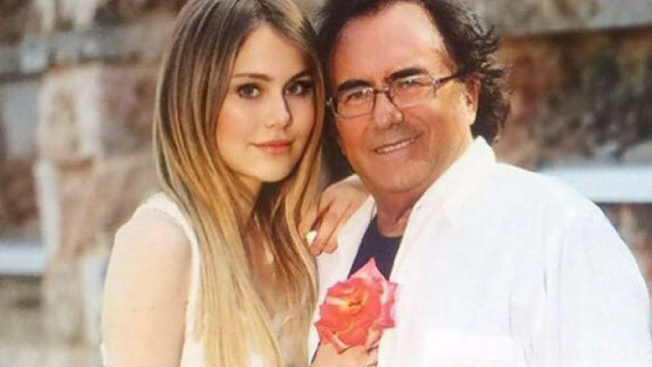 Il Cantante Al Bano Carrisi e la figlia Jasmine (foto Instagram).