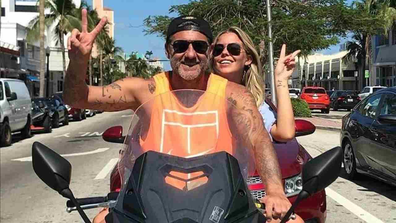 Christian Vieri con la moglie Costanza Caracciolo (foto Instagram).