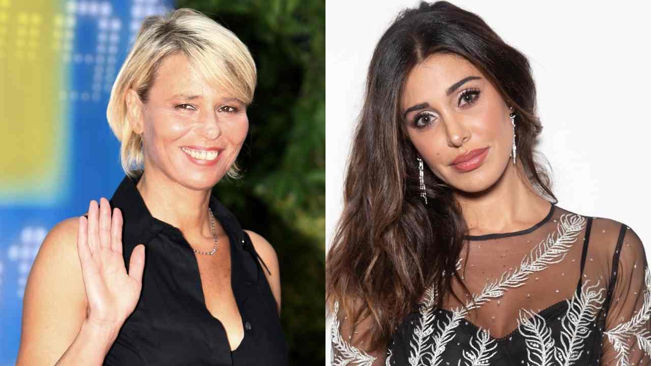 Palinsesto Mediaset: le conduttrici Maria De Filippi e Belen Rodriguez (foto © Getty Images).
