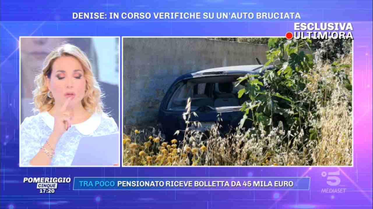 Denise Pipitone, l'auto su cui avrebbe viaggiato (foto © Rai).
