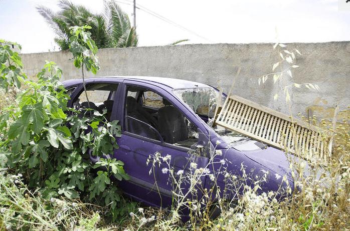 Denise Pipitone, l'auto su cui avrebbe viaggiato (foto © Ansa).