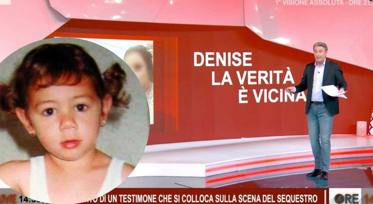 La puntata di Ore 14 dedicata a Denise Pipitone su Rai 2 (foto © Rai).