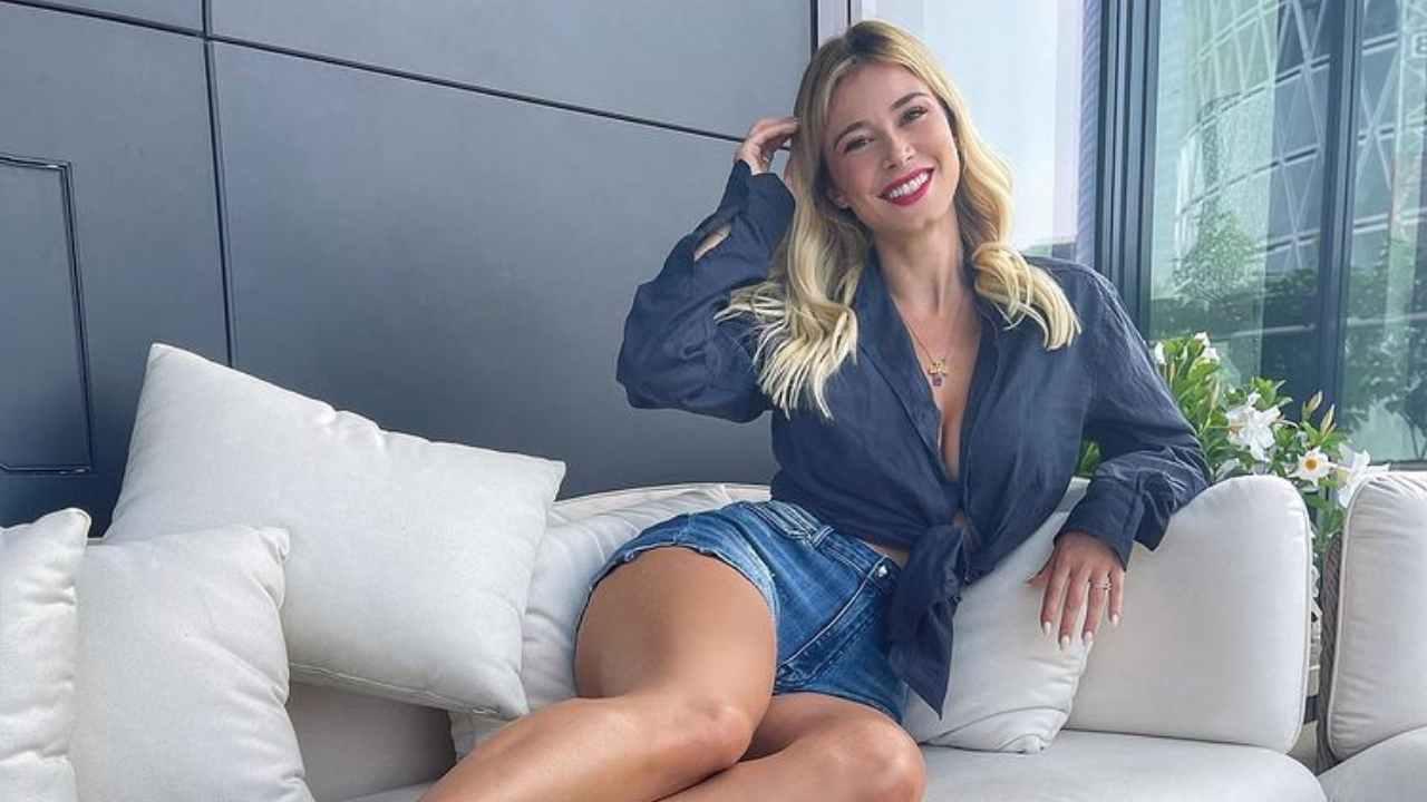 La presentatrice Diletta Leotta (foto Instagram).