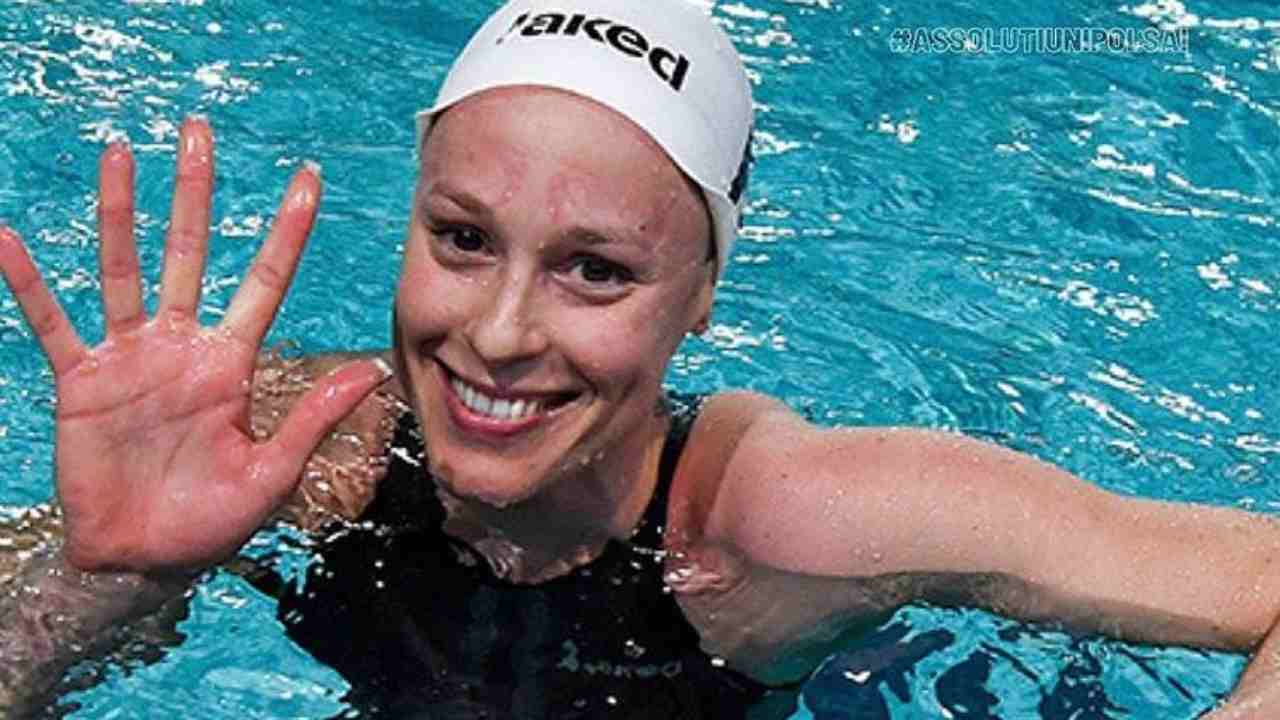 La nuotatrice Federica Pellegrini (foto Instagram).