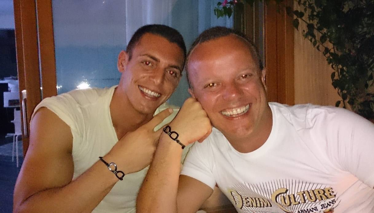Claudio D'Alessio e Gigi D'Alessio (foto Instagram).