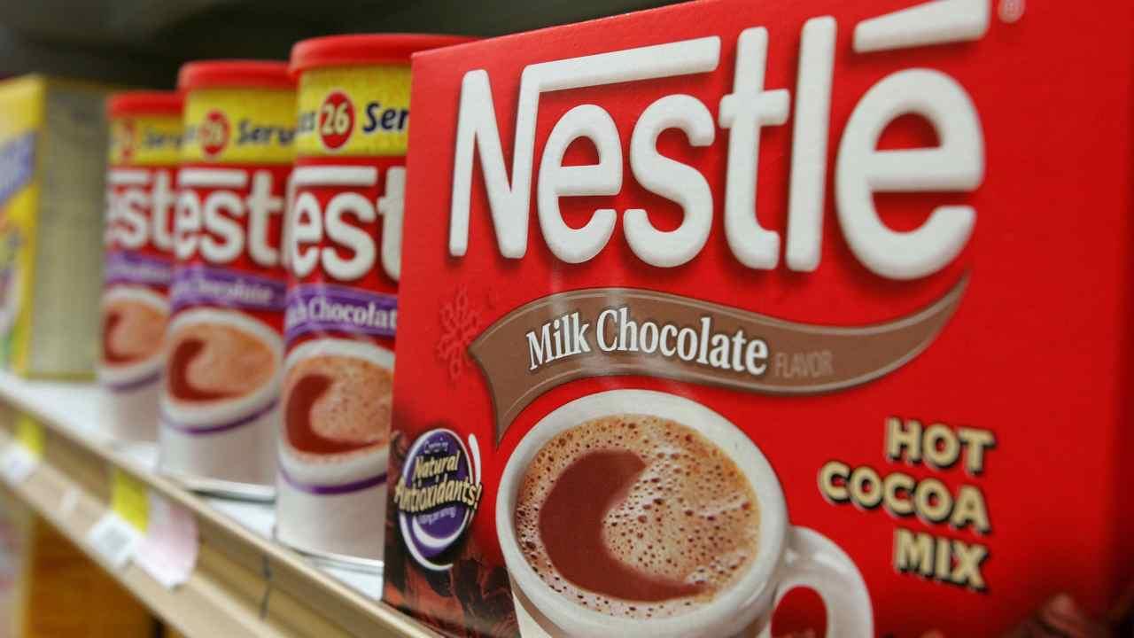 Prodotti Nestlè (foto di Justin Sullivan/Getty Images)
